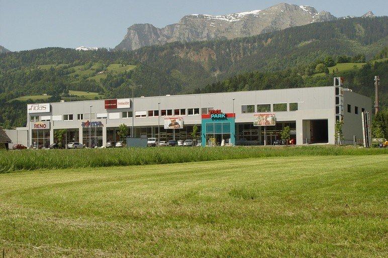 Erweiterung Fachmarktzentrum Liezen